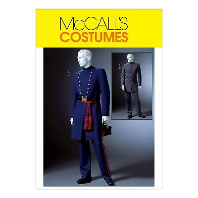 McCalls Schnittmuster M4745 - Historisches Kostüme - Amerikanischer - Herren Bürgerkrieg Kostüme