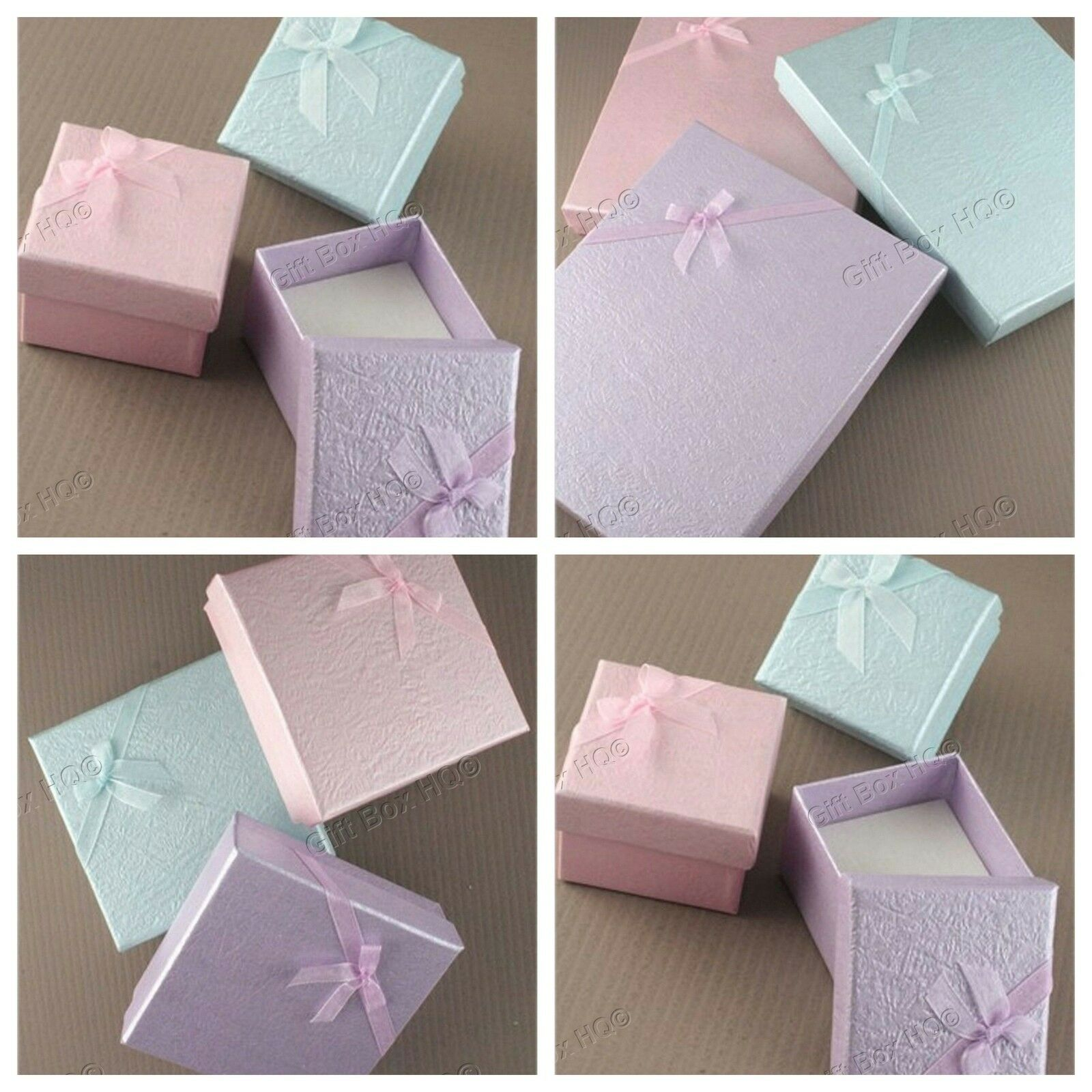 Jewellery - JEWELLERY GIFT BOXES COLOURED RING NECKLACE BRACELET EARRING SET DISPLAY JEWELRY