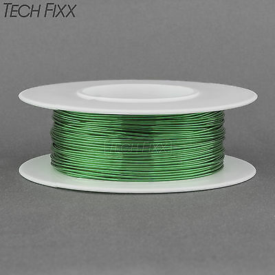 Magnet Wire 24 Gauge Awg Enameled Copper 100 Feet Coil Winding And Crafts Green