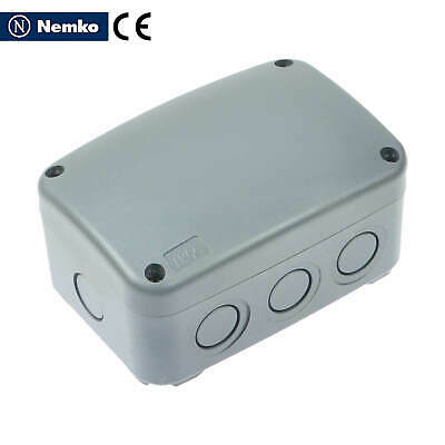 Electrical Enclosure Plastic Junction Box Ip66 Dustwater Proof 125 86 62mm