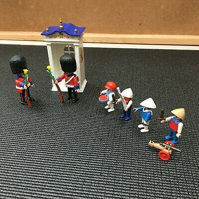 Playmobil Vintage 5581 Victorian Palace Guard And Children.