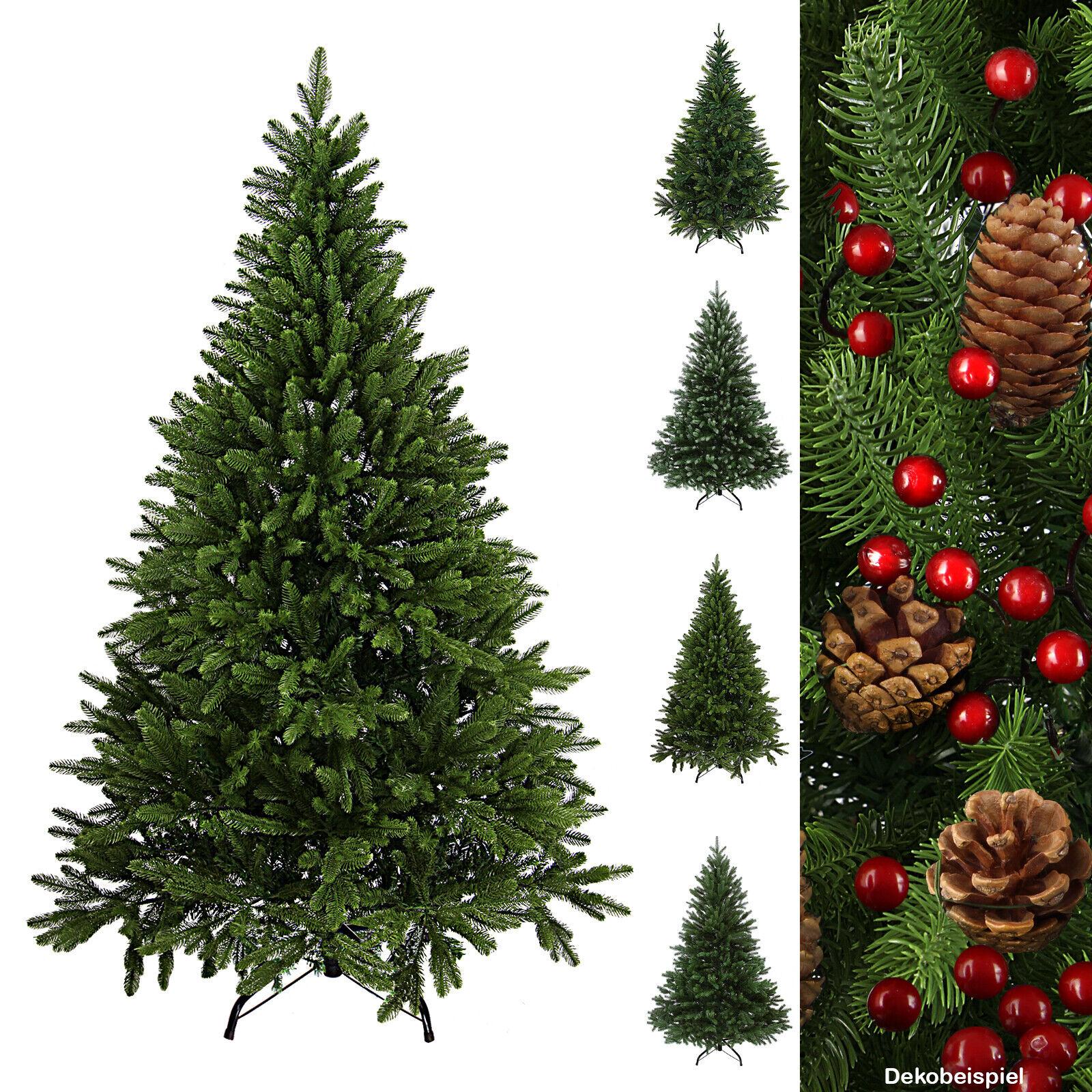 Luxus Christbaum künstlicher Weihnachtsbaum PE / PVC Spritzguss Mix Tannenbaum