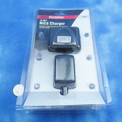 DrillMaster 68420 18 Volt NiCd Battery Charger For Cordless