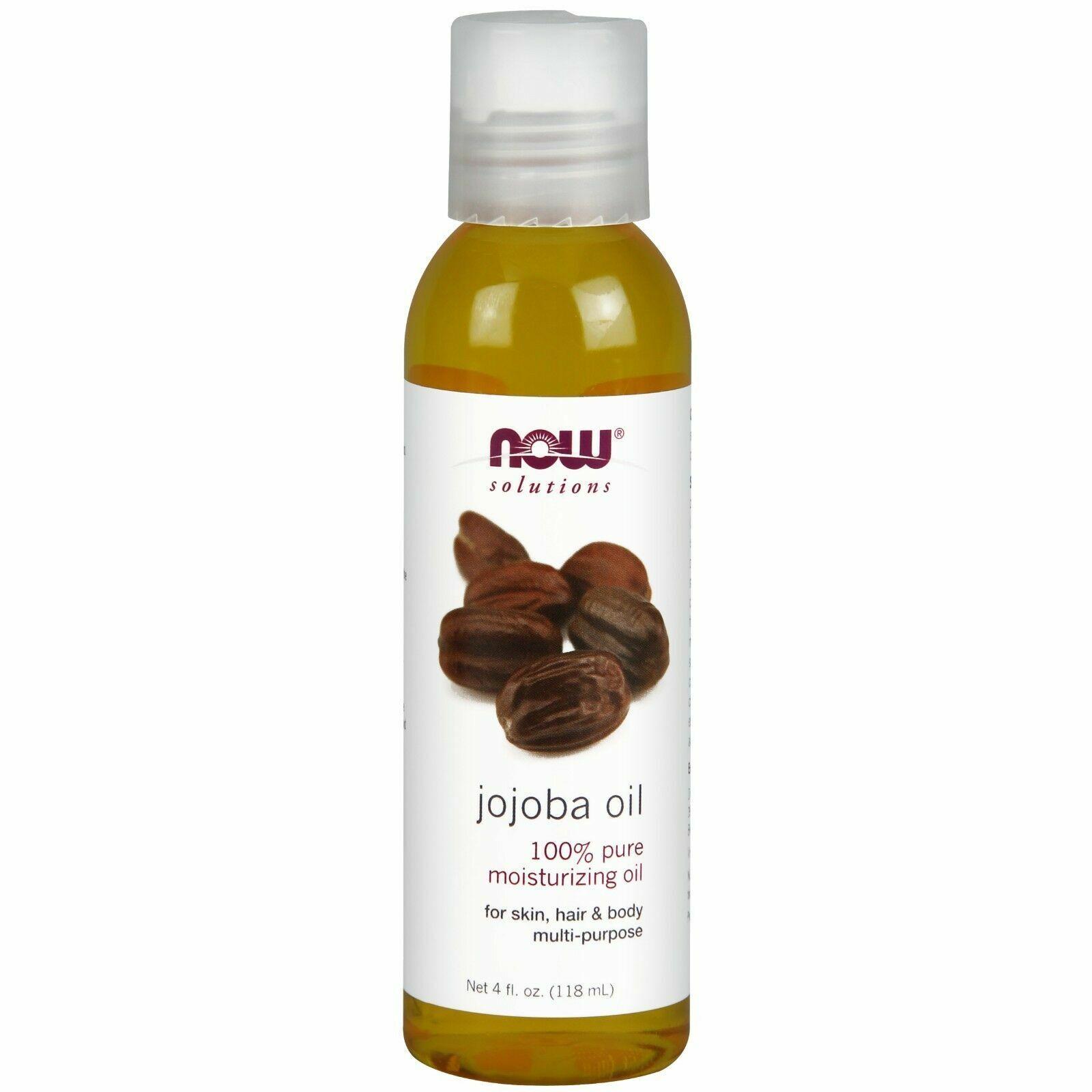 Now Foods Jojoba Oil Pure, 4 Ounces