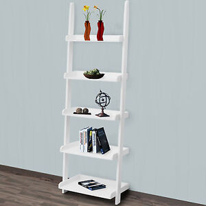 ladder shelving unit ebay. Black Bedroom Furniture Sets. Home Design Ideas