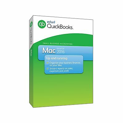 Quickbooks For Mac 2016  1 User  Send Us A Message For Your Best Price