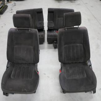 Nissan Patrol GU4 STS Black Velour Trim Seats and Door Cards
