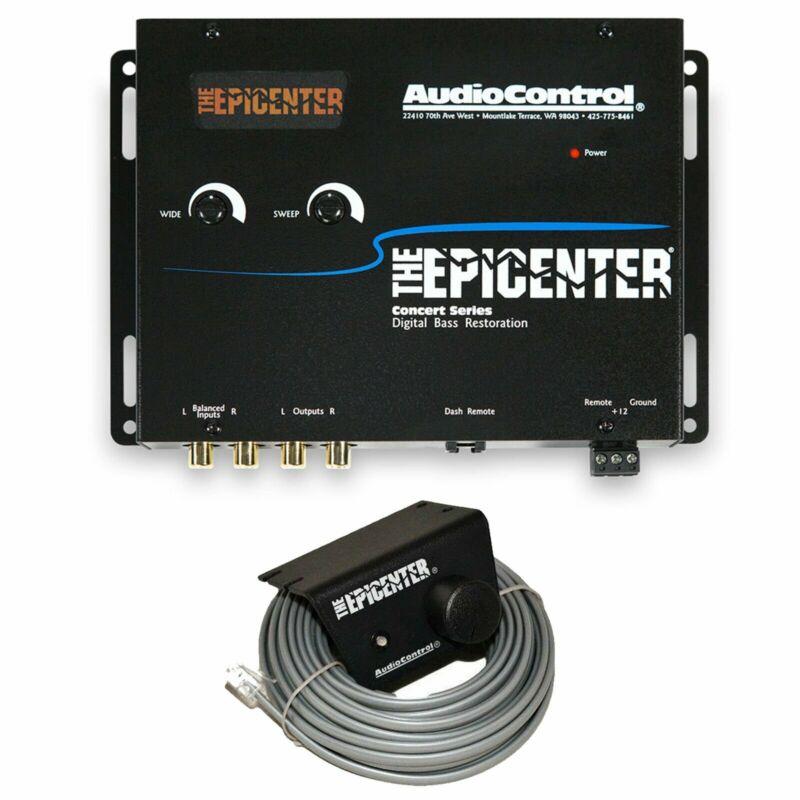 Audio Control The Epicenter Black Digital Bass Enhancer Restoration Processor