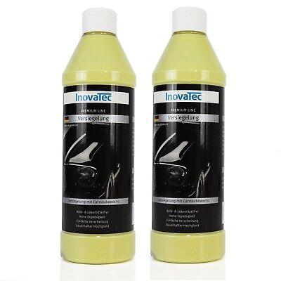 2 x 0,5l Carnaubawachs Lack Versiegelung Wachs Wax Schutz Lackpflege InovaTec