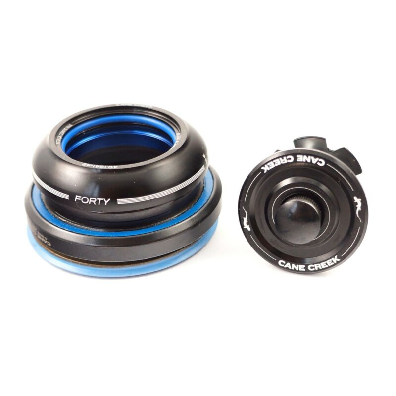 Cane Creek Tapered 40 Is42/28.6 Is52/40 Short Cover Integrated Headset Black