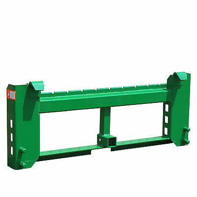 Titan Pallet Fork Frame 2 Trailer Receiver Hitch Fits John Deere Loader
