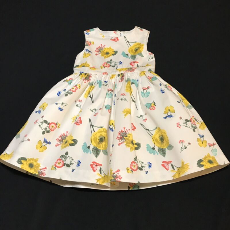 Crazy 8 Floral Dress Baby Girls 18-24 Month Clothes Spring Cotton