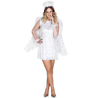 Sexy Weihnachtsengel Karneval Damen Kostüm Engel Christkind Weihnachten Fasching
