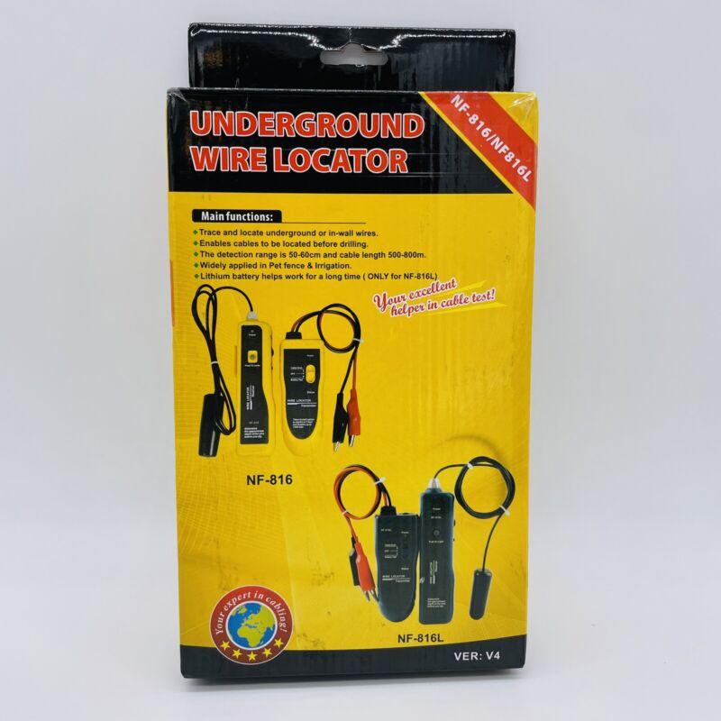 NF-816 NF-816L Underground Wire Locator Yellow Open Box V4 QC Pass