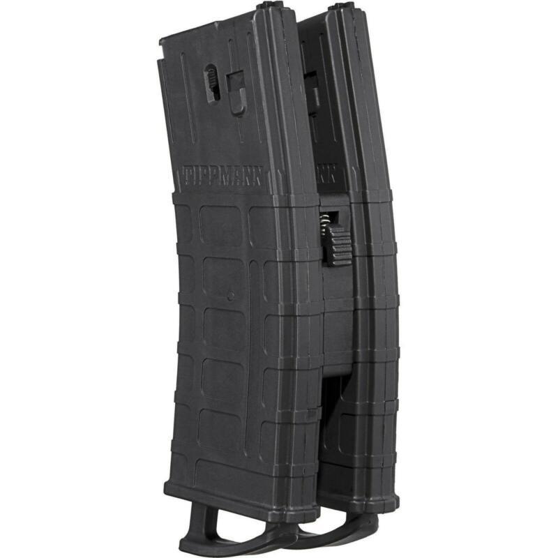 Tippmann TMC .68 Cal Mags w/ Coupler 2 pack Black .68 Cal Retail Box