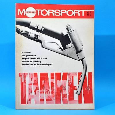 DDR Illustrierter Motorsport IMS 4 1973 Shiguli Kombi 2102 Bördeland Balkan F
