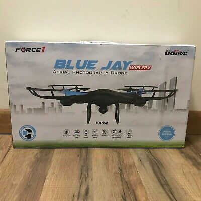 Force1 Blue Jay WiFi Aerial Photography Drone - Model U45W
