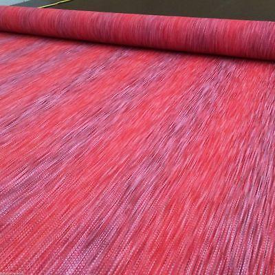 Gestreifte Polster (Polsterstoff Möbelstoffe Webstoff Strukturstoff Stuhl Meterware rot gestreift)