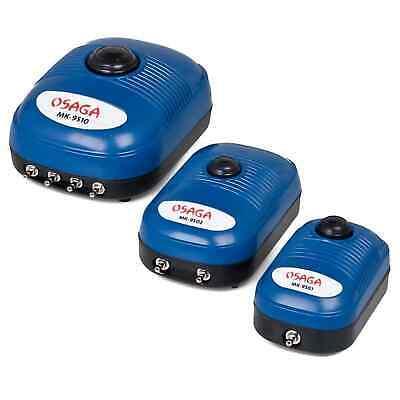 OSAGA Belüfter MK Serie, regelbar Teich Aquarium Luftpumpe Membranpumpe Pumpe