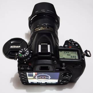 Nikon DSLR D7100 complete camera, lense and home studio bundle