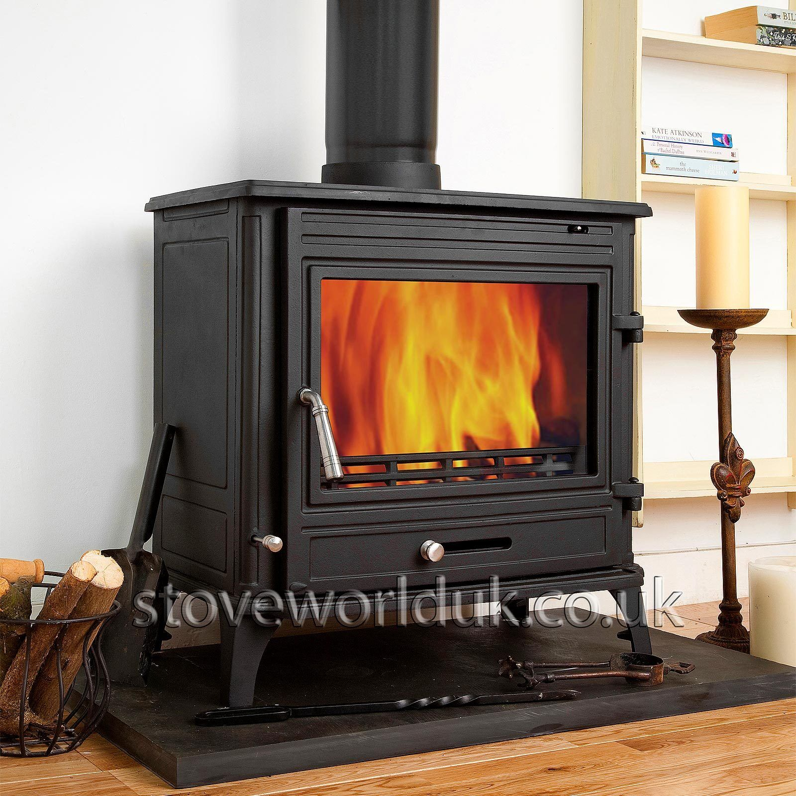 Coseyfire 22 Back Boiler Woodburning Cast Iron Stove Fire