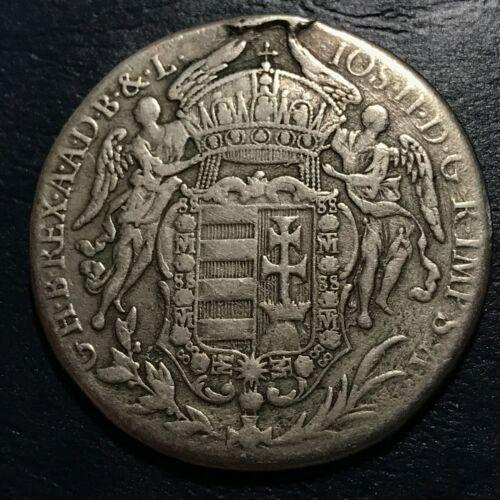 1783 HUNGARY SILVER JOSEPH II MADONNA THALER HUGE CROWN COIN