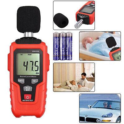 Digital Sound Pressure Level Meter 35-135db Decibel Noise Temprature Measurement