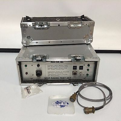 Wes-tek Inc Mcp Radio Test Set