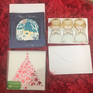 26x Christmas Cards with envelopes
