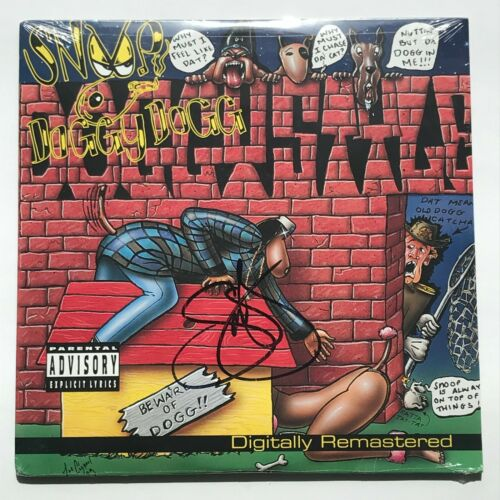 Snoop Doggy Dogg - Doggystyle AUTOGRAPHED 2LP SEALED