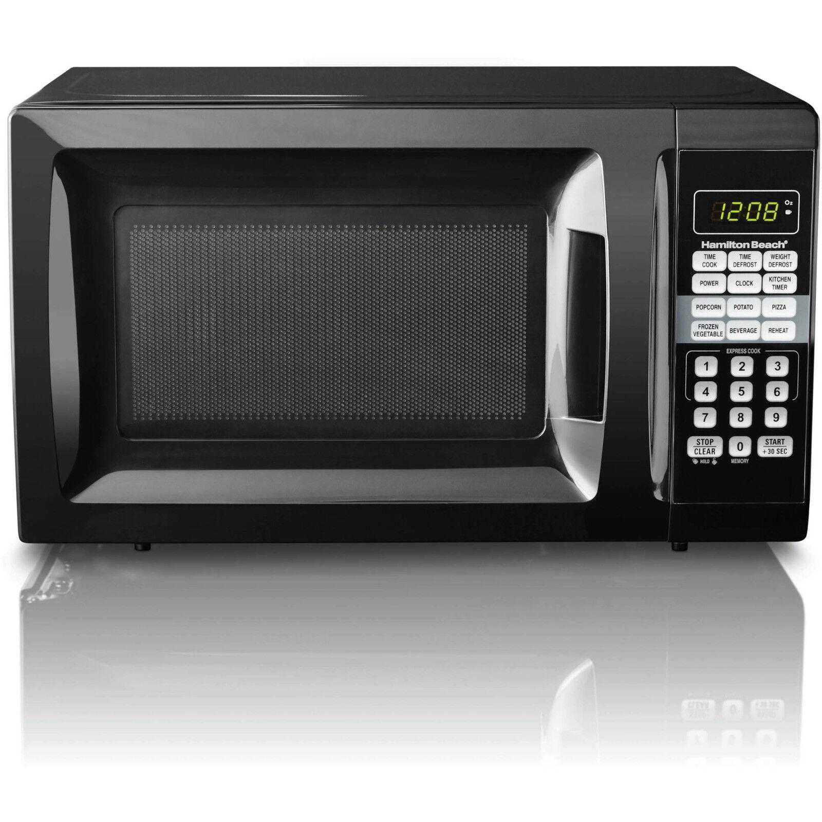 Hamilton Beach 0.7 cu ft Microwave Oven 10 power levels 6 qu