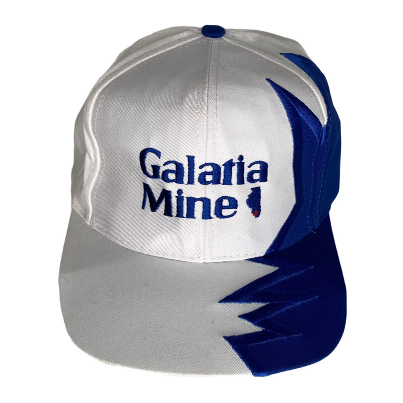 GALATIA MINE Illinois Coal Mining HAT Cap Shark Tooth Design Murray Energy