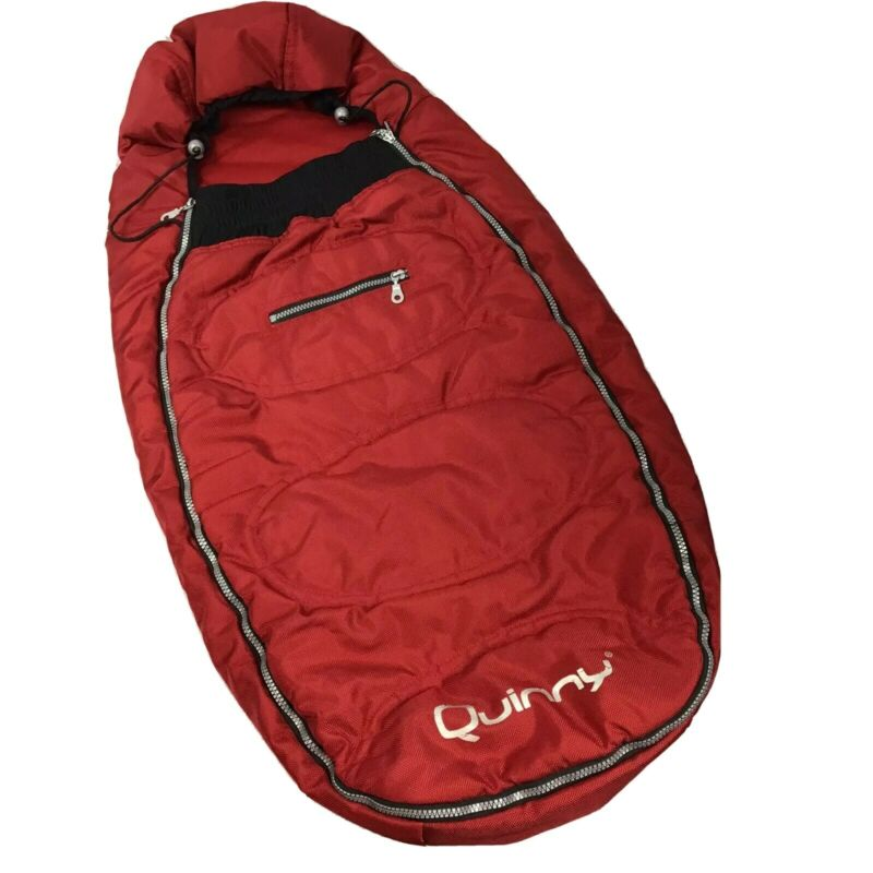 Quinny Red Footmuff Stroller Insulated Sleeping Bag