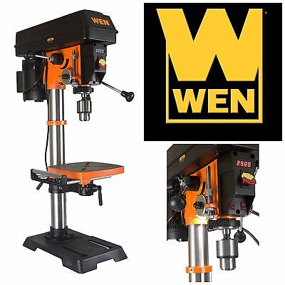 Variable Speed Drill Press Machinist Tool Metalworking Tools Bench Standing 12