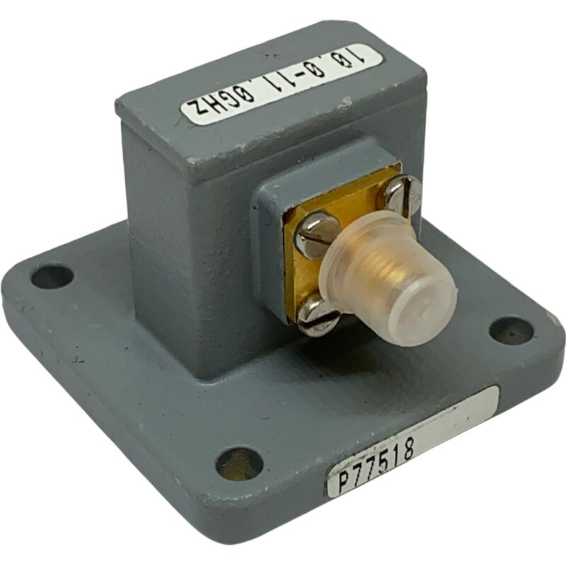 10-11Ghz WR-90 to SMA Waveguide to Coaxial Adapter 68B62-003