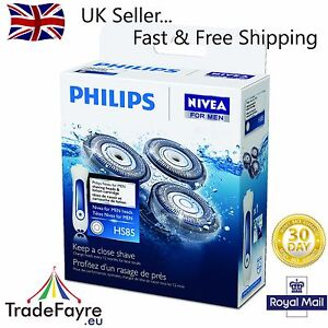 GENUINE PHILIPS HS85 COOLSKIN SHAVER/RAZOR HEAD SET BOXED ~ UK STOCK
