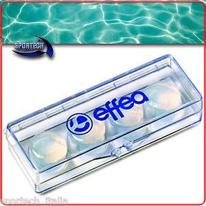 Set 4 tappi auricolari in silicone tappa orecchie nuoto - Tappi per orecchie piscina ...