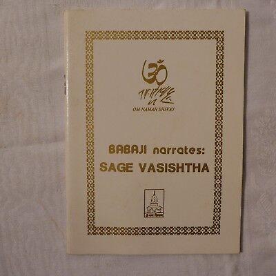 Sage Vasishtha (babaji narates ) gebraucht kaufen  Waldbröl