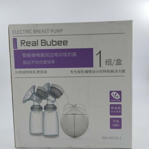 RealBubee RBX-8023S-2 Intelligent Electric Double Breast Pump Massage Postpartum