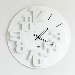 Arti e Mestieri - Wall Clock Big Perseo White ø CMS 59 - Dealer