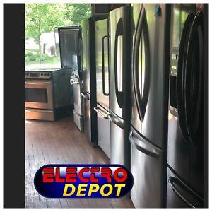 Réfrigérateur, frigidaire, frigo usagé à vendre Victoriaville