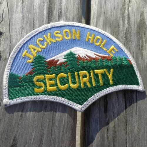 """Jackson Hole Security 2.75"""" WY Wyoming Patch"""