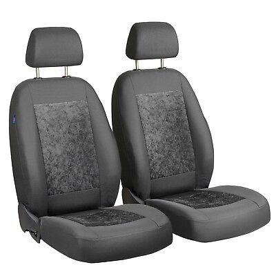 1+1 Polyester Vordere Sitzbezüge Hochwertig Sitzbezug für Alfa Romeo Audi BMW