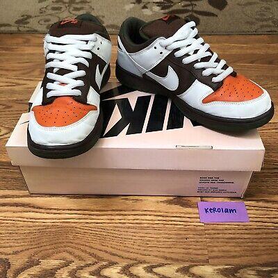 cheaper c79c9 9c5ee Nike Dunk Low Pro SB Oompa Loompa - Light Chocolate White - Size 10