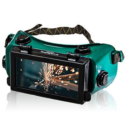Kwiksafety Hammerhead Welding Goggles Ansi Anti Fog Flip-up 5 Lens