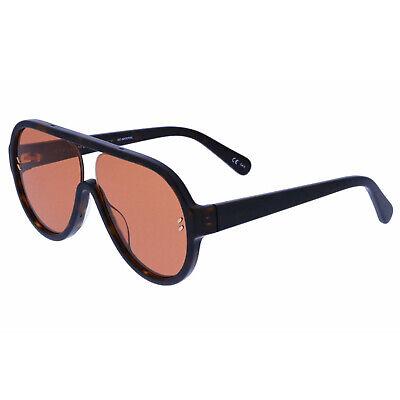 NEW STELLA MCCARTNEY SC0153S 002 HAVANA/ORANGE AUTHENTIC SUNGLASSES 60-140 Orange Havana Sunglasses
