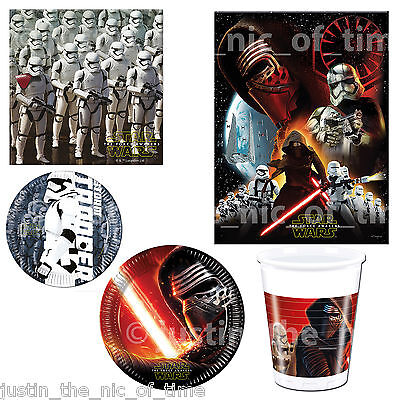 STAR WARS Job Lot Birthday Party Tableware Boys Kids Children CLEARANCE
