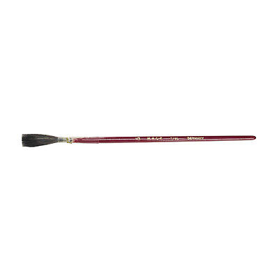 Andrew Mack Brown Kazan Squirrel Hair Lettering Quill Brush Series 179L Size -