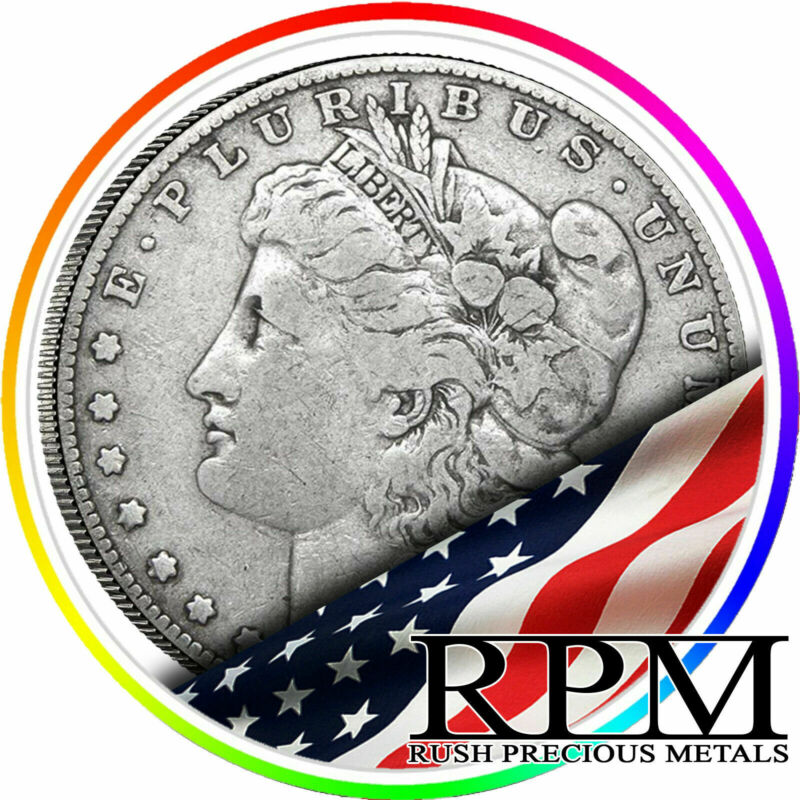 Sale! Random Year $1 Cull Morgan Silver Dollars Full Date No Holes