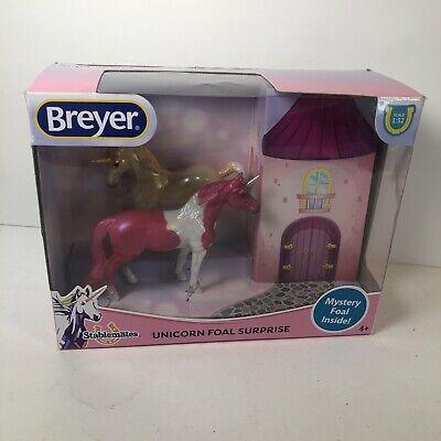Breyer Stablemates Mystery Unicorn Foal Surprise Set NIB